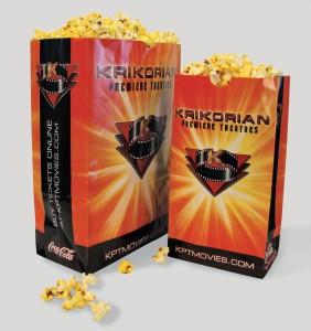 Taphorn Design - Popcorn Theatre Bag