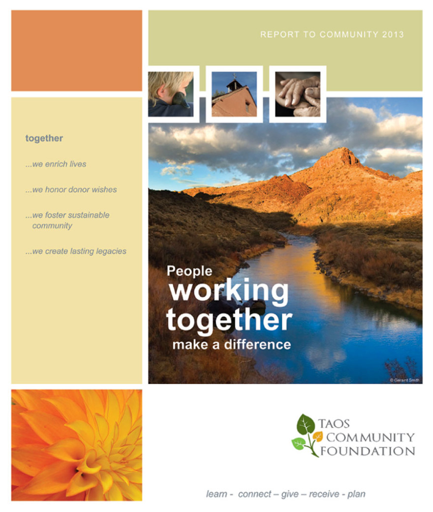 Taphorn Design - Taos Community Foundation Report