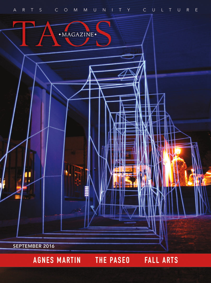 Taos Magazine September 2016 Cover