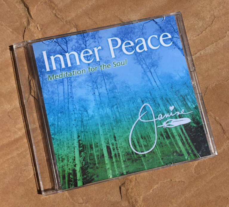 Inner Peace CD by Janine Nacimento - Taphorn Design